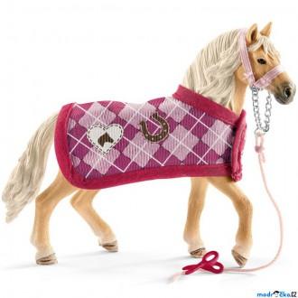 Ostatní hračky - Schleich - Kůň, Andaluský kůň a módní doplňky