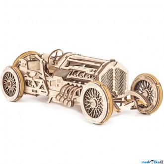 Stavebnice - 3D mechanický model - Auto U-9 Grand Prix (Ugears)