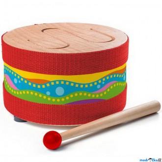 Dřevěné hračky - Hudba - Bubínek celodřevěný (Woody)
