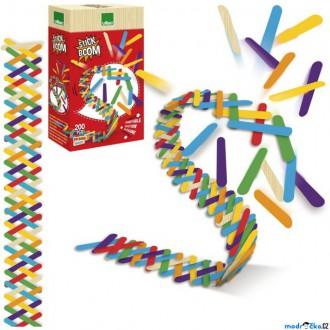 Dřevěné hračky - Dominová dráha - Hra Stick Boom (Vilac)
