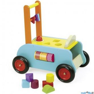 Dřevěné hračky - Chodítko dřevěné - Multifunkční (Vilac)