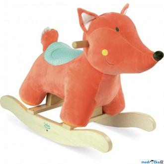 Pro nejmenší - Houpadlo - Houpací plyšová liška (Vilac)
