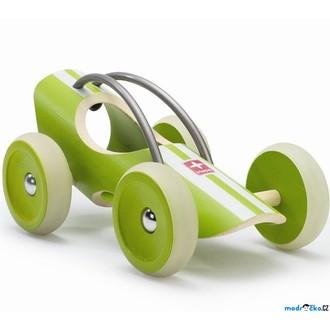 JIŽ SE NEPRODÁVÁ - Auto - Závodní autíčko E-racer Suzuka zelené (Hape)