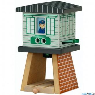 Vláčkodráhy - Vláčkodráha budovy - Signální věž (Maxim)