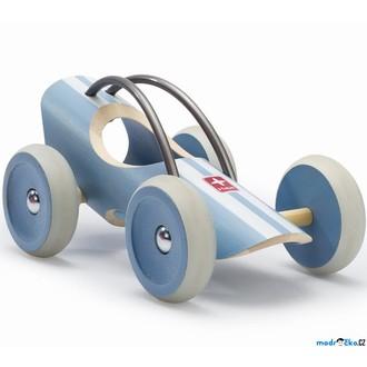 JIŽ SE NEPRODÁVÁ - Auto - Závodní autíčko E-racer Le Mans modré (Hape)