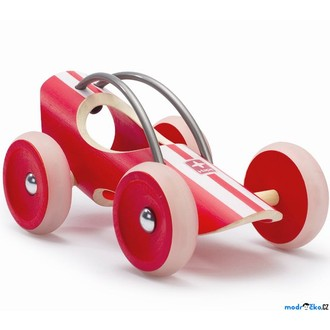 JIŽ SE NEPRODÁVÁ - Auto - Závodní autíčko E-racer Monza červené (Hape)