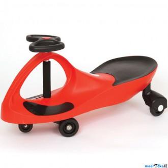 Dřevěné hračky - Didicar - Vozítko červené