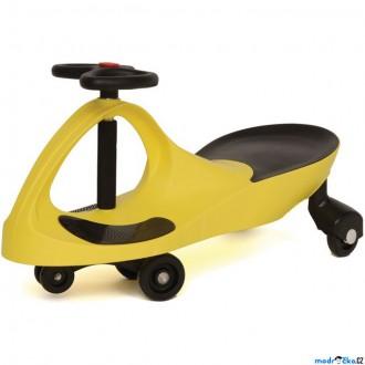Dřevěné hračky - Didicar - Vozítko žluté