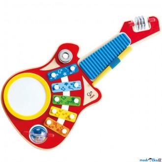 Dřevěné hračky - Hudba - Muzikální set, Kytara 6v1 (Hape)