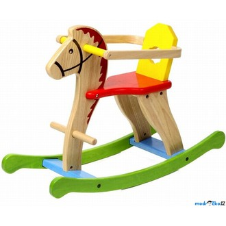 JIŽ SE NEPRODÁVÁ - Houpadlo - Houpací kůň, barevný (Voila)