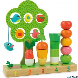 Dřevěné hračky - Skládačka - Multifunkční hračka Zahrádka (Vilac)