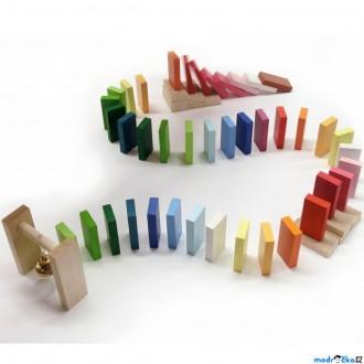 Dřevěné hračky - Dominová dráha - Zvonek (Detoa)