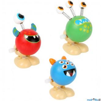 Dřevěné hračky - Drobné hračky - Natahovací skákací příšerka, 1ks (Legler)