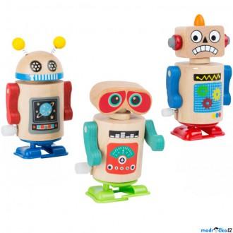 Dřevěné hračky - Drobné hračky - Natahovací chodící robot, 1ks (Legler)