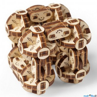 Stavebnice - 3D mechanický model - Flexi-Cubus (Ugears)