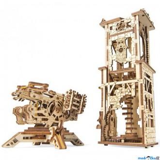 Stavebnice - 3D mechanický model - Archballista a věž (Ugears)