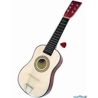 "Dřevěné hračky - Hudba - Kytara 23"", 6 strun (Bino)"