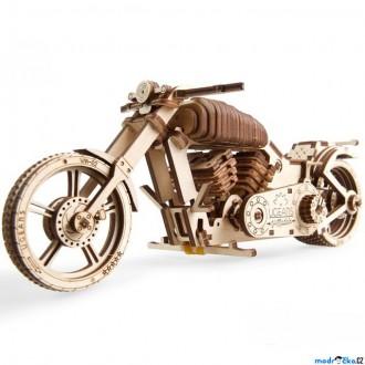 Stavebnice - 3D mechanický model - Motorka (Ugears)