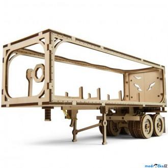 Stavebnice - 3D mechanický model - Truck VM-03, Přívěs pro kamion (Ugears)