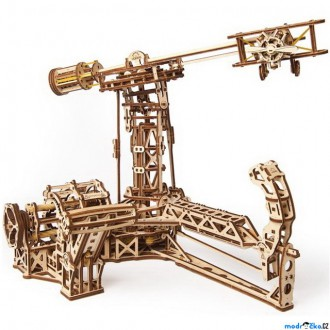 Stavebnice - 3D mechanický model - Letecký simulátor (Ugears)