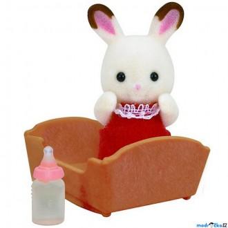 Ostatní hračky - Sylvanian Families - Miminko králíka čokoládového