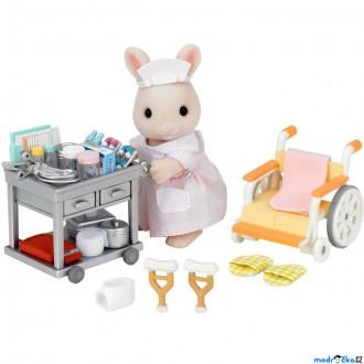 Ostatní hračky - Sylvanian Families - Set, Sesterna s příslušenstvím a králíčkem