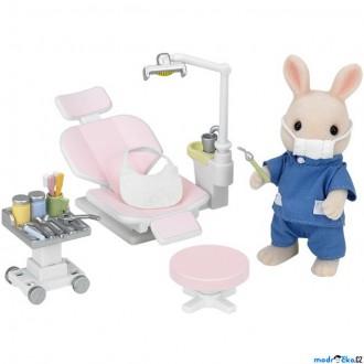 Ostatní hračky - Sylvanian Families - Set, U zubaře s příslušenstvím a králíčkem