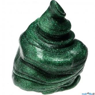 Ostatní hračky - Inteligentní plastelína - třpytící, Perský smaragd