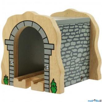 Vláčkodráhy - Vláčkodráha tunely - Kamenný železniční tunel (Bigjigs)
