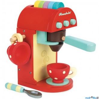Dřevěné hračky - Kuchyň - Kávovar dětský dřevěný (Le Toy Van)