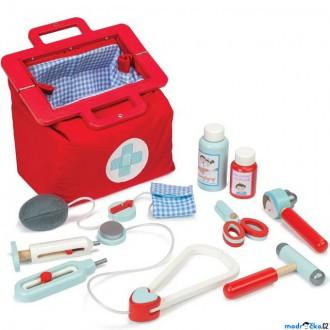 Dřevěné hračky - Doktor - Doktorská brašna s příslušenstvím (Le Toy Van)