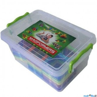 Stavebnice - Magformers - Universal Box, 47 ks