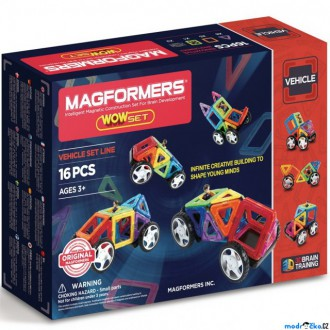 Stavebnice - Magformers - Wow Starter, 16 ks