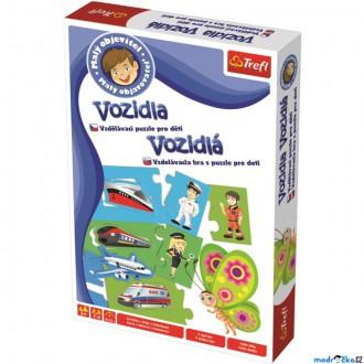 Ostatní hračky - Didaktická hra - Malý objevitel, Vozidla (Trefl)