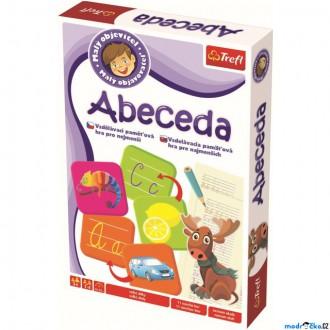 Ostatní hračky - Didaktická hra - Malý objevitel, Abeceda (Trefl)