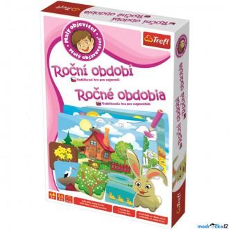 Ostatní hračky - Didaktická hra - Malý objevitel, Roční období (Trefl)