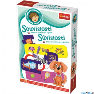 Ostatní hračky - Didaktická hra - Malý objevitel, Souvislosti (Trefl)