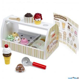 Dřevěné hračky - Prodejna - Zmrzlinárna (M&D)