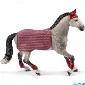 Ostatní hračky - Schleich - Kůň, Trakénská kobyla, jezdecký turnaj