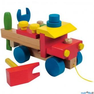 Dřevěné hračky - Auto montážní - Nákladní (Woody)