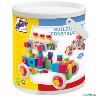 Stavebnice - Stavebnice montážní - Construktor, 144 dílů (Woody)