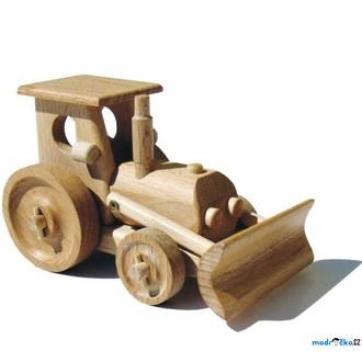 Dřevěné hračky - Ceeda Cavity - Traktor s radlicí