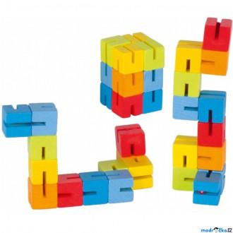 Dřevěné hračky - Drobné hračky - Had do kapsy (Goki)