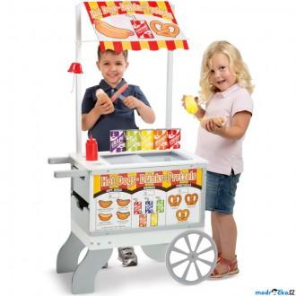 Dřevěné hračky - Prodejna - Prodejní stánek s občerstvením (M&D)