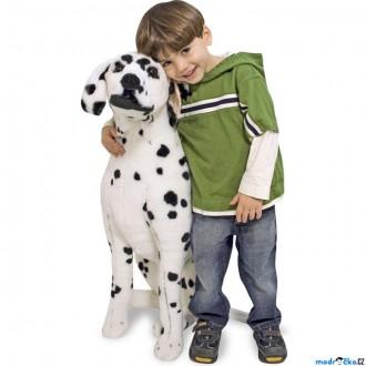 Ostatní hračky - Plyšová hračka - Dalmatin jako živý (M&D)