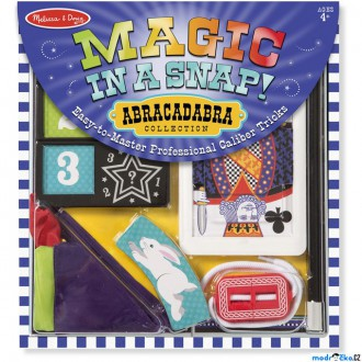 Ostatní hračky - Malý kouzelník - Kouzelnická sada Abracadabra (M&D)