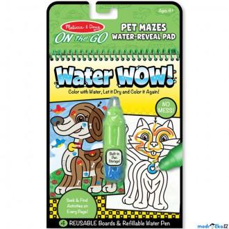 Ostatní hračky - Omalovánky - Kouzlení vodou, Bludiště mazlíčci (M&D)