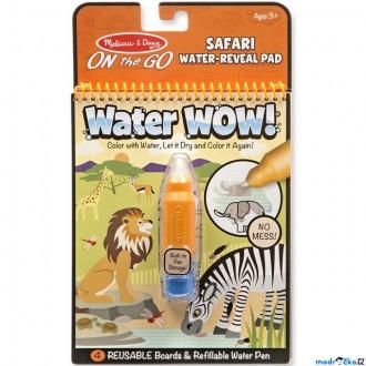 Ostatní hračky - Omalovánky - Kouzlení vodou, Safari (M&D)