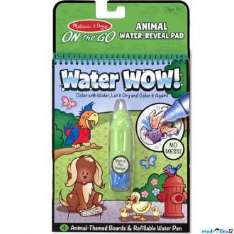 Ostatní hračky - Omalovánky - Kouzlení vodou, Zvířátka (M&D)