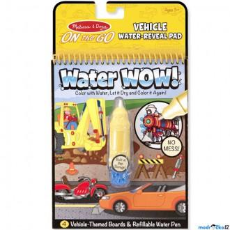 Ostatní hračky - Omalovánky - Kouzlení vodou, Dopravní prostředky (M&D)
